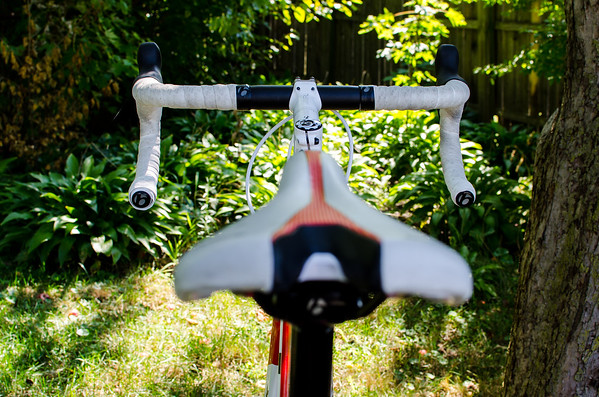 2013 Trek Madone - Saddle view of Handle Bars