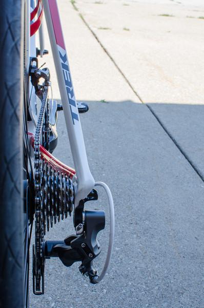 2013 Trek Madone - Drivetrain rear view