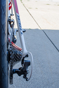 2013 Trek Madone - Drivetrain rear view