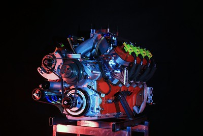 ILMOR ENGINE SHOOT
