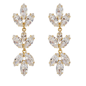 TEKLA EARRINGS / CRYSTAL