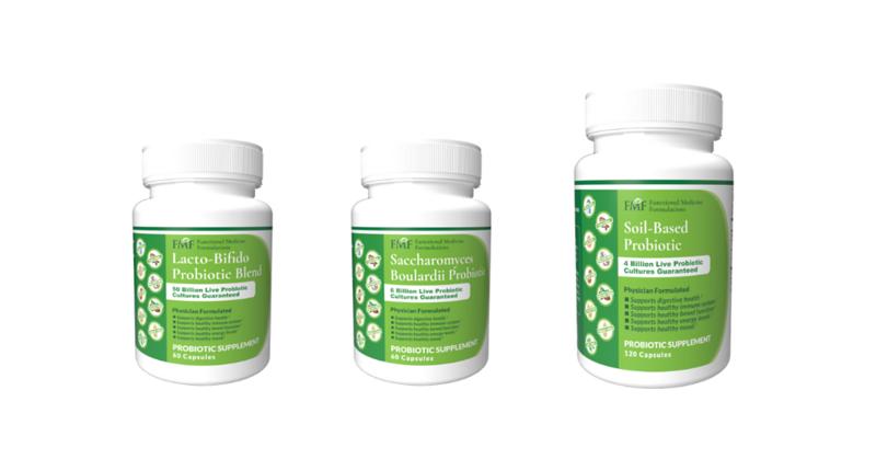 Different probiotic supplements