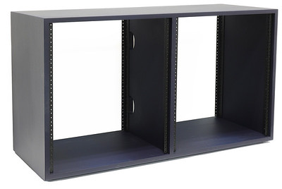 12U x 2 (24U) | AudioRax Double Bay Studio Rack