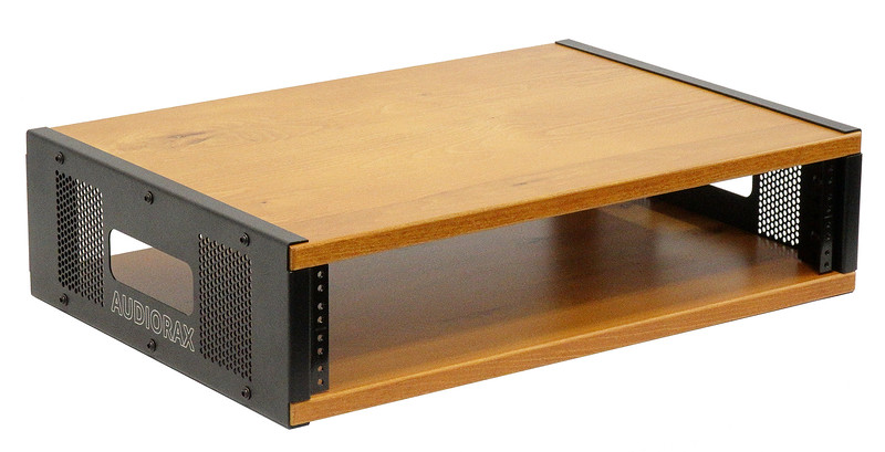 2 Space (2U) | AudioRax Hybrid Series Studio Equipment Audio Rack