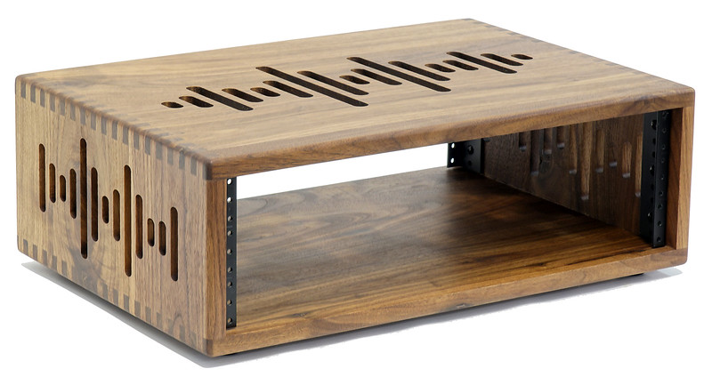 3 Space (3U) | AudioRax Solid Wood Studio Equipment Rack