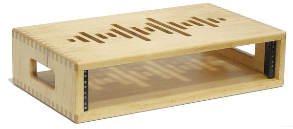 2 Space (2U) | AudioRax Solid Wood Studio Equipment Rack