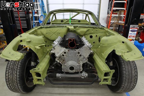 Vorshlag BMW Z4 T56 Magnum Transmission Crossmember Kit