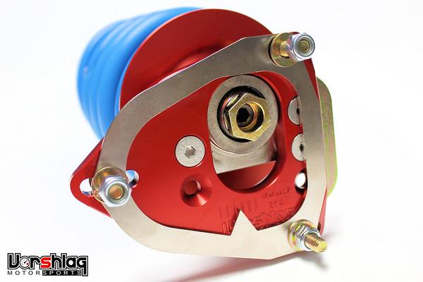 Vorshlag camber plate on Bilstein PSS10 VW Mk7