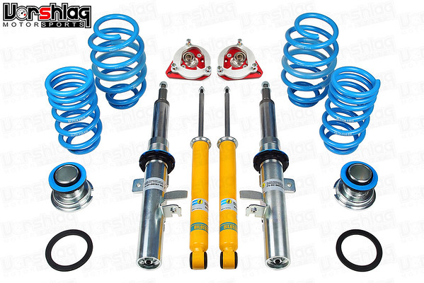 Bilstein PSS9 Kit W/Vorshlag Camberplates for Ford Focus