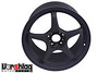 "D-Force LTW 5-spoke wheel in 18x10"" size, Flat Black finish"