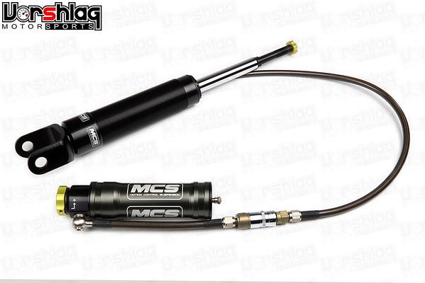 MCS Remote Reservoir 2-Way Adjustable Rear Shock for C6 Corvette