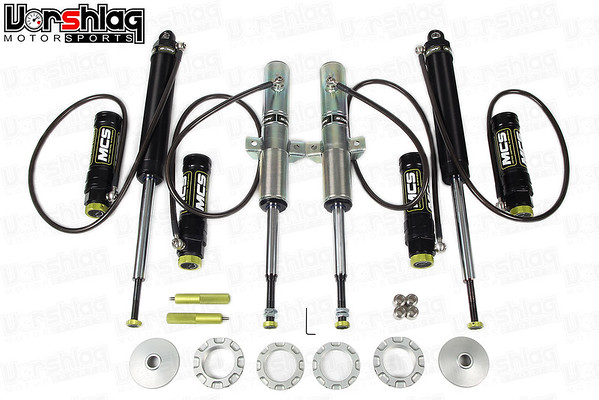 MCS Remote Reservoir 2-Way Adjustable Shocks for BMW E46 M3
