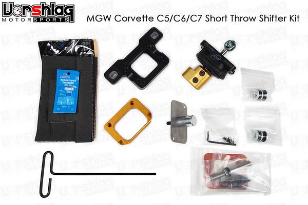 MGW C5 C6 C7 Corvette Short Shifter Kit