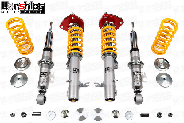 Ohlins Road & Track Coilovers with Vorshlag Camber Plates for R56 Mini Cooper