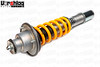 Ohlins Road & Track Rear Coilover Shown With Optional Upper OEM Mount For 2005-2012 Porsche Cayman & Boxster