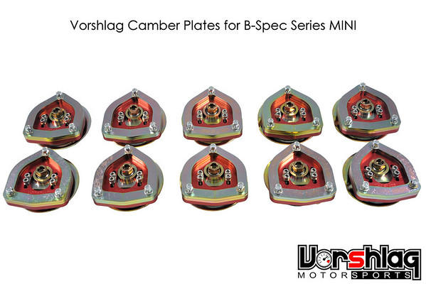 Vorshlag Camber Plates for B-Spec MINI