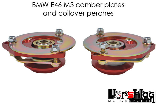 E46 M3 camber plates and coilover perches