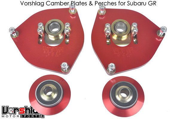 Vorshlag Camber Plates and perches for Subaru GR