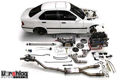 Vorshlag E36 LS1 Swap Kit Parts Gallery