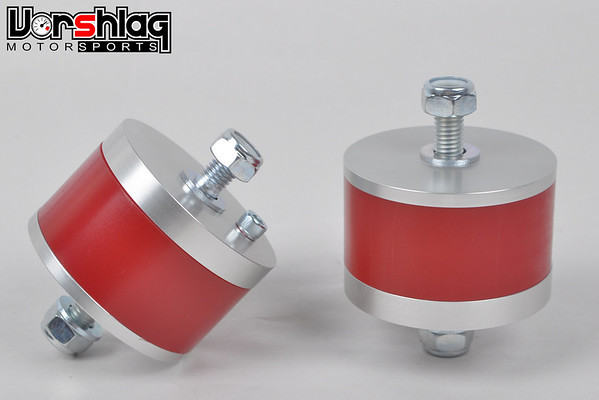 Vorshlag Competition motor mounts for E30, in 95A durometer Polyurethane