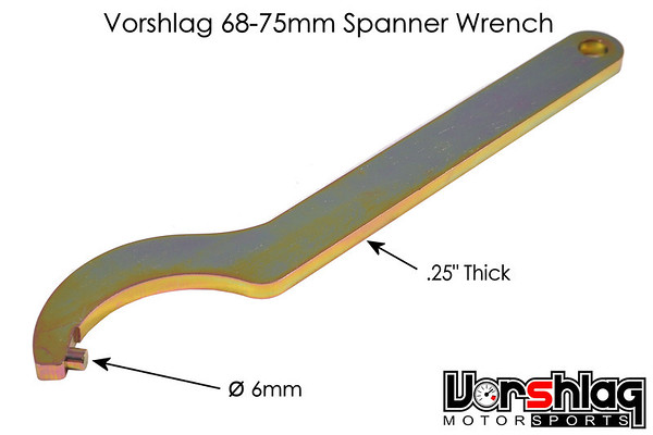 T2-75B6-01 - Vorshlag 68-75mm Spanner Wrench for use with Moton shocks