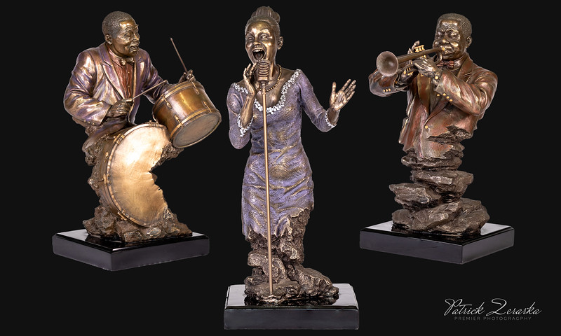 Art Display Playing JAZZ Music Group New Orleans Premier Photography USA