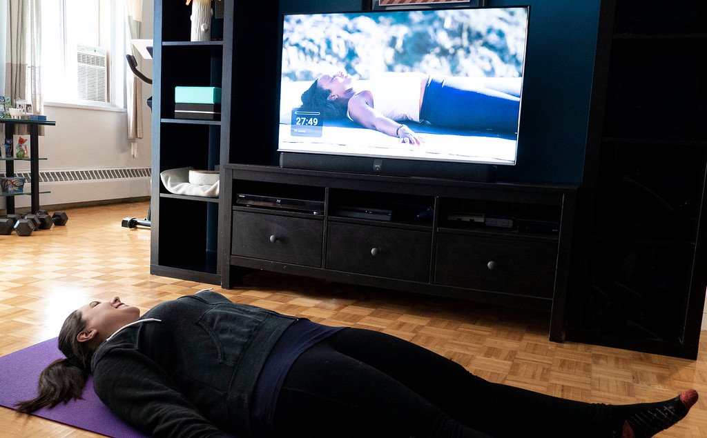 Yoga à la maison avec iFit
