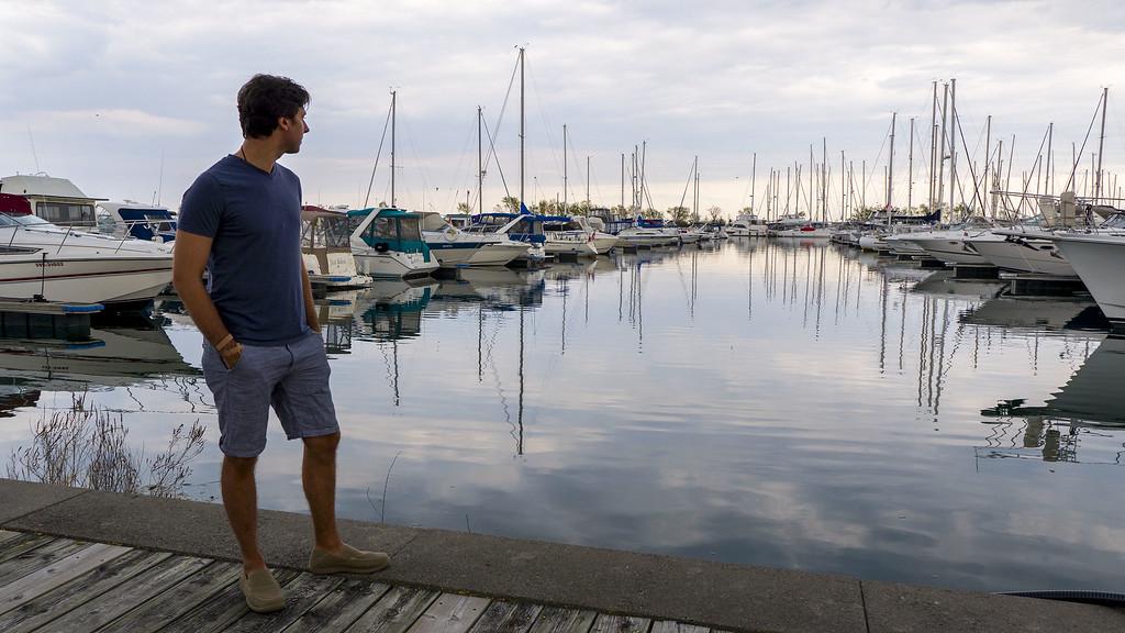 Lakefront Promenade Park and Port Credit Marina