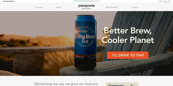 Patagonia - Home Page