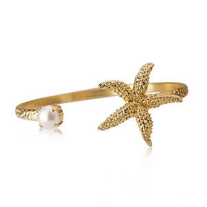 Sea Star Bracelet/ Pearl