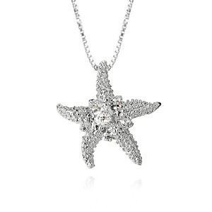 Sea Star Necklace/ Pearl