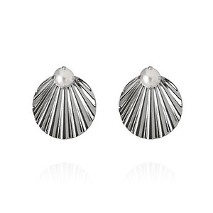 Milos Earrings/ Pearl