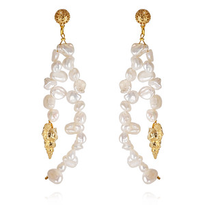Luisa Earrings/ Pearl