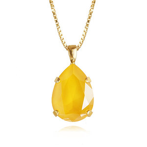 Classic Drop Necklace / Buttercup