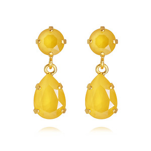 Mini Drop Earrings / Buttercup