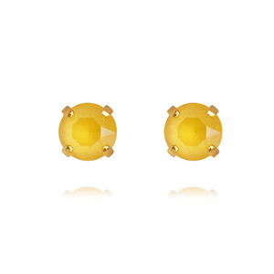 Classic Stud Earrings / Buttercup