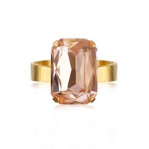 Lydia Ring / Light Peach
