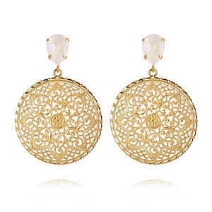 Alexandra Earrings / Light DeLite