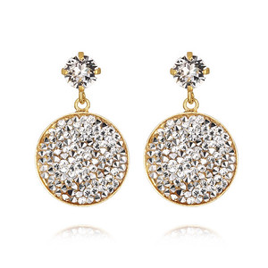 Chloe Earrings / CAL + Crystal