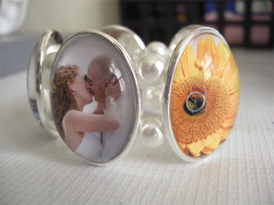 Custom photo bracelet- view 1