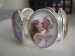 Custom picture bracelets : Whether it is images taken by me or old family photos you wish to use, we can help you create a truly unique bracelet which makes the perfect present for anything from Mother's Day or your 1st Anniversary to Valentine's Day or the birth of a child (The perfect gift for Grandma!)