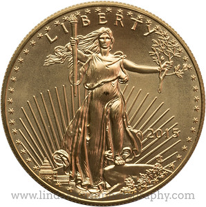 Liberty Gold Coin 2015