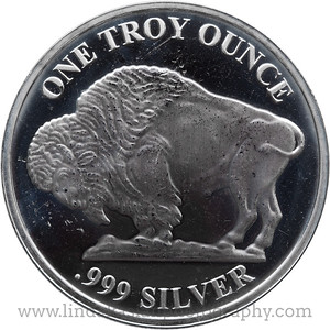 One Troy Ounce 0.999 silver