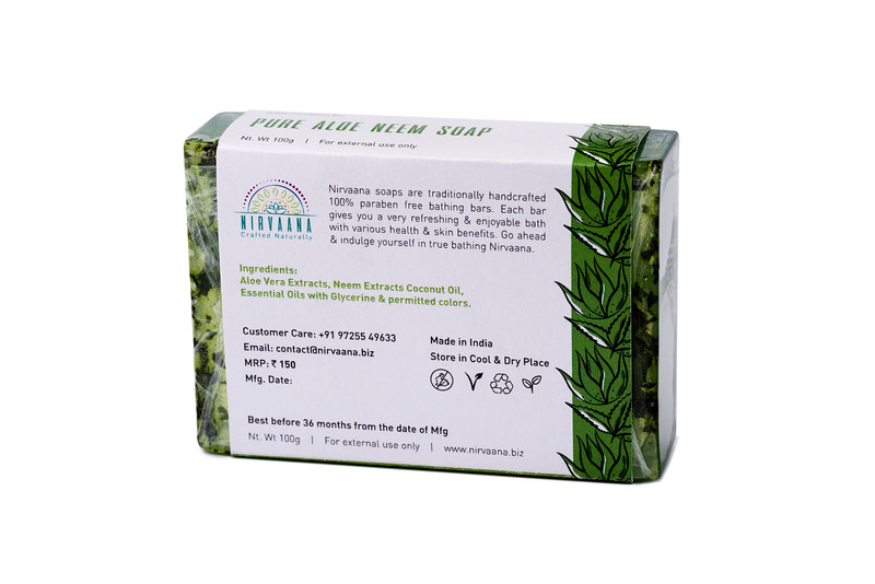 Pure Aloe Neem Soap-3