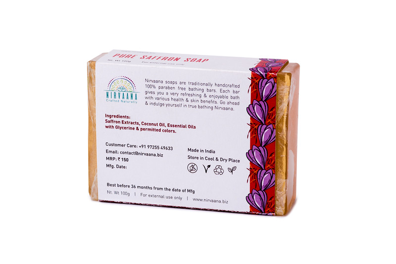 Pure Saffron Soap-3