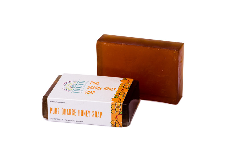 Pure Orange Honey Soap-5
