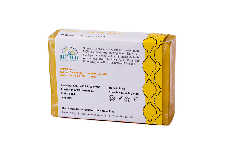 Pure Lemon Soap-3