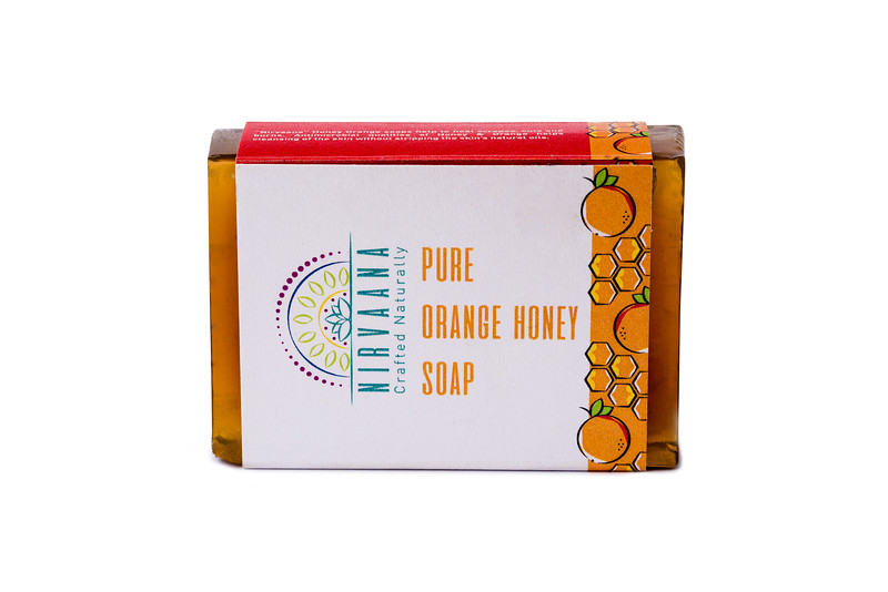 Pure Orange Honey Soap-1