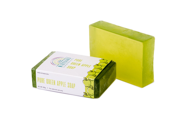 Pure Green Apple Soap-5