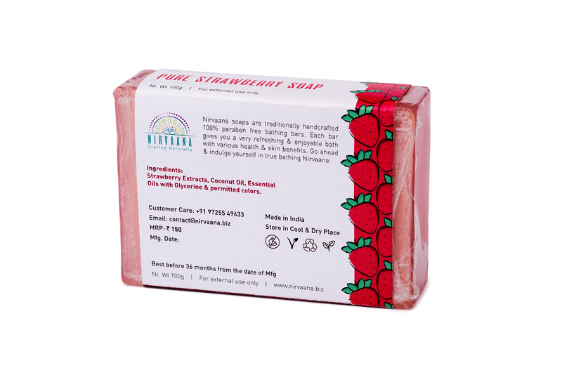 Pure Strawberry Soap-3